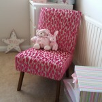Villa-Nova-Vibrant-pink-fabric-upcycled-recycled-reupholstered-nursing-chair